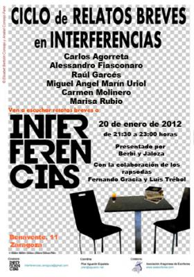 INTERFERENCIAS.  RECITAL RELATO BREVE